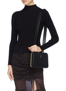 Mark Cross 'Juliana Frame' leather shoulder bag