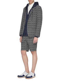 nanamica 'Club' check plaid ALPHADRY® soft blazer