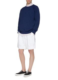 nanamica Panelled raglan sweatshirt