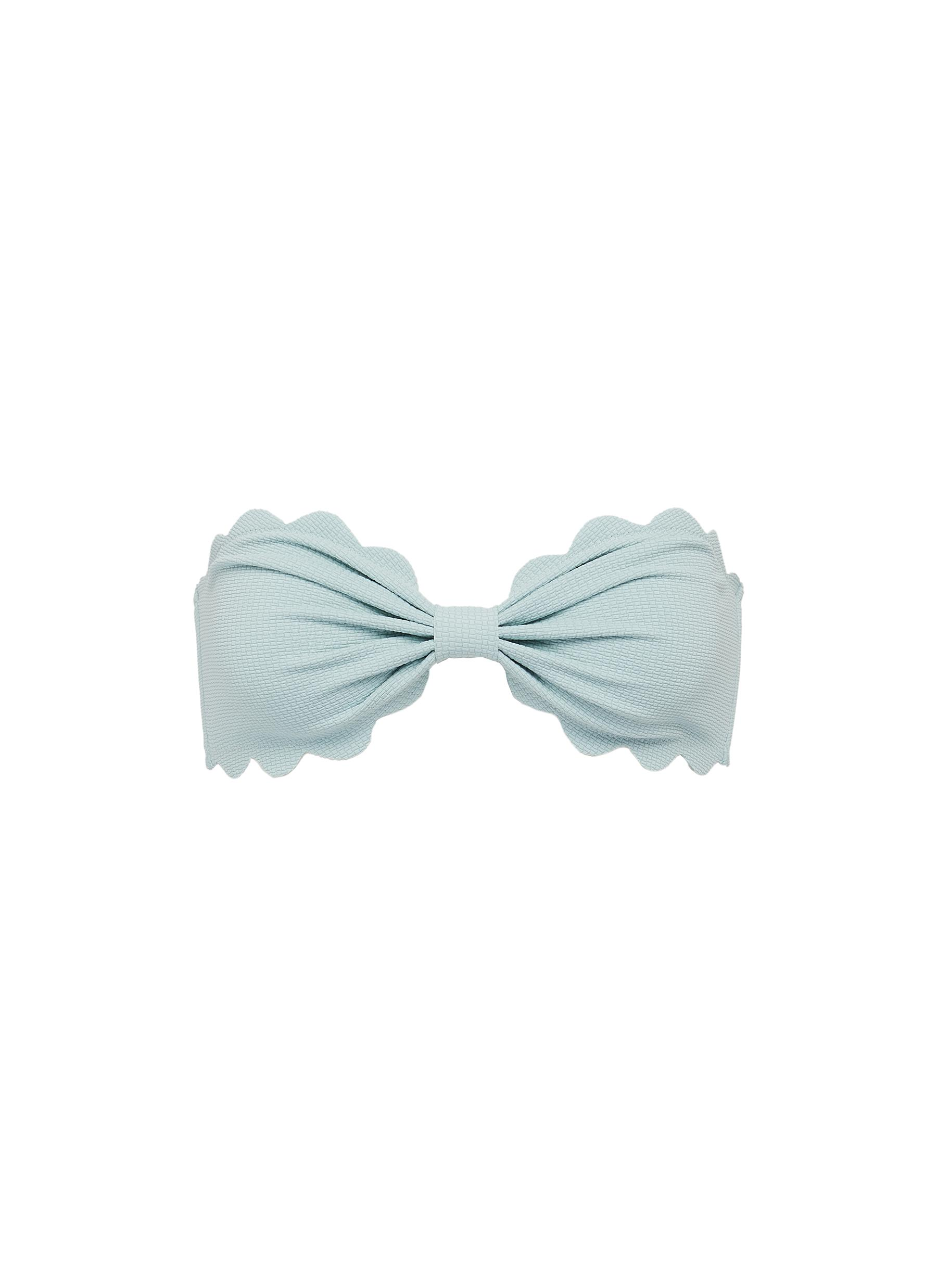 shop Marysia 'Antibes' scalloped bandeau top online