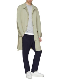 MAISON FLANEUR Staggered cuff corduroy pants