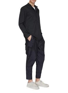 DEVOA Silk cargo pants