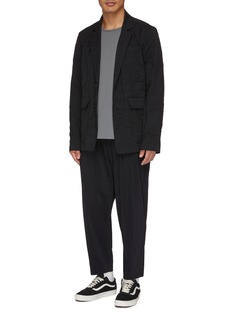 ATTACHMENT Pleated jogging pants
