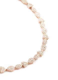Roberto Coin 'Capriccio' diamond 18k white gold necklace