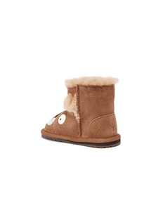 EMU AUSTRALIA 'Leo Lion Walker' suede infant boots