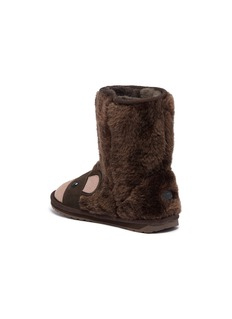EMU AUSTRALIA 'Brown Bear' wool kids boots
