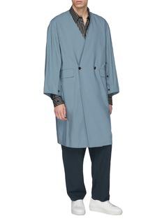 ETHOSENS Double breasted kimono coat