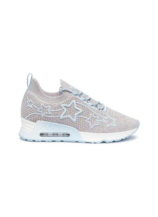 Main View - Click To Enlarge - ASH - 'Lunatic Star' appliqué knit sneakers