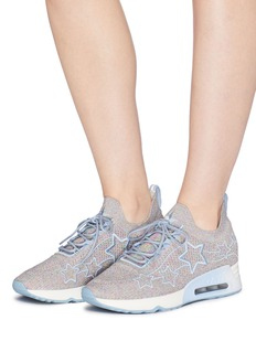 Ash 'Lunatic Star' appliqué knit sneakers