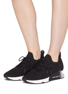 Ash 'Lunatic Star' appliqué knit sneakers