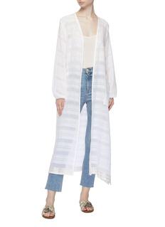 Lemlem 'Kelali' belted stripe robe