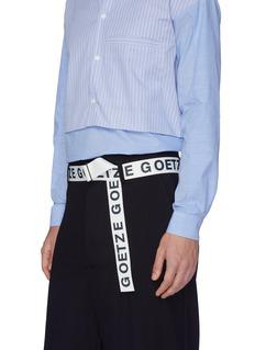 GOETZE Logo print belt