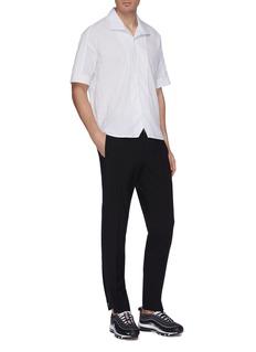 GOETZE 'Don' seersucker short sleeve shirt
