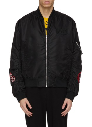 Main View - Click To Enlarge - McQ Alexander McQueen - Monster badge bomber jacket