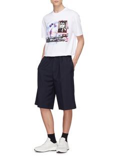 McQ Alexander McQueen Mix appliqué graphic print T-shirt
