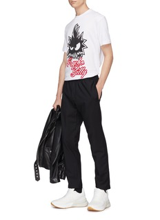 McQ Alexander McQueen Monster print T-shirt