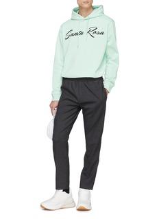 McQ Alexander McQueen 'Santa Rosa' slogan graphic print hoodie