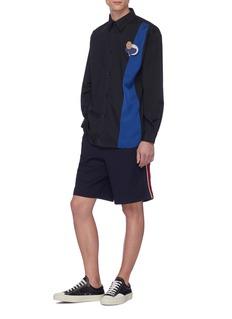 Anna Beam Stripe outseam shorts