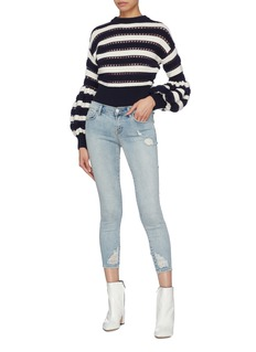 J Brand '9326' ripped cropped skinny jeans