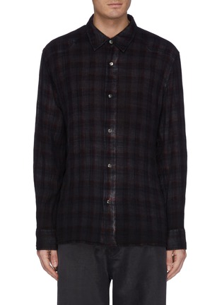 Main View - Click To Enlarge - OUR LEGACY - 'Fine Frontier' check plaid shirt