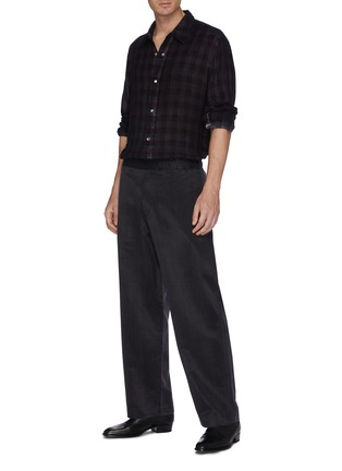 Figure View - Click To Enlarge - OUR LEGACY - 'Fine Frontier' check plaid shirt