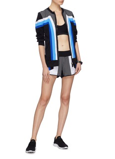 No Ka'Oi 'Huli Hilo' colourblock Sensitive® track shorts