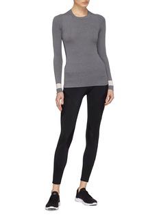 Vaara 'Neve' stripe cuff knit long sleeve T-shirt