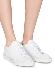 Common Projects 'Achilles' confetti outsole leather sneakers