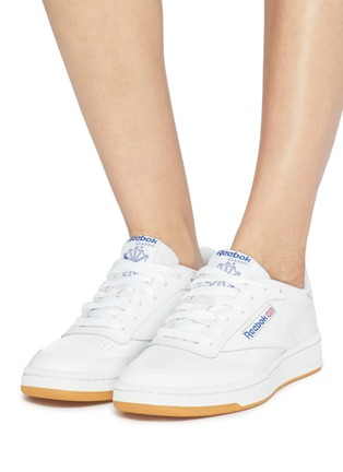 3f363ebdc5c Figure View - Click To Enlarge - Reebok -  Club C 85  leather sneakers