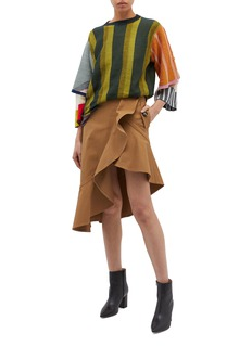 TOGA ARCHIVES Colourblock layered knit top