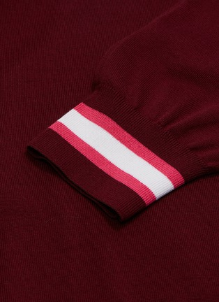 - MRZ - Sleeve tie knit dress