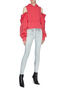 TRE by Natalie Ratabesi 'The Edith' zip cuff skinny jeans