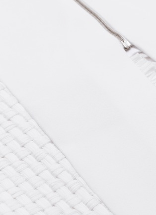 - Roland Mouret - 'Turnley' split front lattice skirt