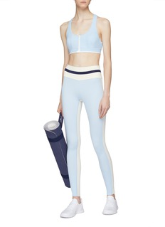 Vaara 'Flo' stripe outseam performance leggings