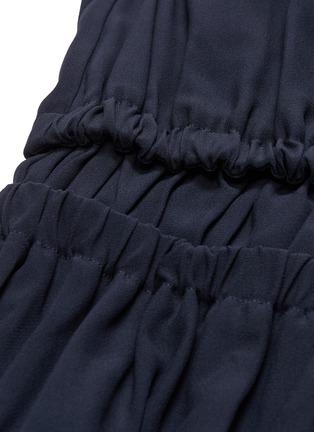 - MINKI - Ruffle strap tiered dress