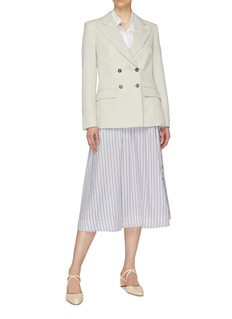 Cédric Charlier Peaked lapel double-breasted blazer
