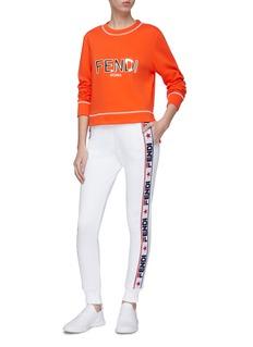 Fendi Sport Logo print sweatshirt