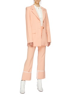 Ellery 'Vascular' notched lapel oversized blazer