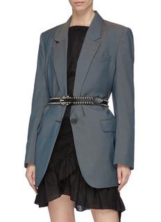 Isabel Marant 'Tokky' ball stud leather belt