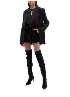Isabel Marant 'Datja' metallic stripe blazer