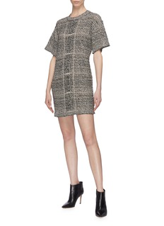 Sonia Rykiel Tweed T-shirt dress