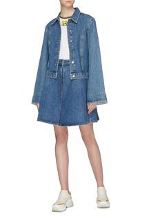 AALTO Bell sleeve denim jacket