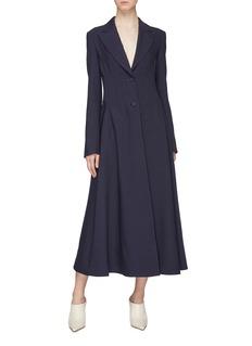 Gabriela Hearst 'Alfonso' darted waist virgin wool-silk coat