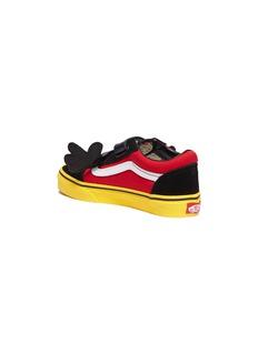 Vans x Disney 'Old Skool' Mickey Mouse kids sneakers