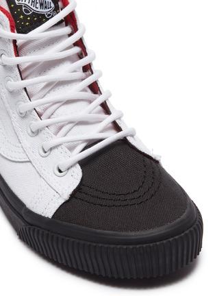 Detail View - Click To Enlarge - VANS - x NASA 'Sk8-Hi MTE' logo appliqué colourblock canvas kids sneakers