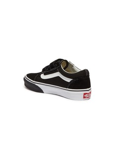 Vans 'Old Skool' flame print outsole canvas kids sneakers