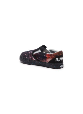 Figure View - Click To Enlarge - VANS - x NASA 'Classic Slip-on' galaxy print toddler sneakers