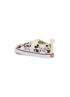Vans x Disney 'Authentic Mickey's Birthday' print canvas toddler sneakers