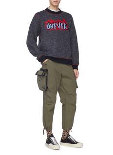 kolor x PORTER detachable pouch ripstop cargo pants