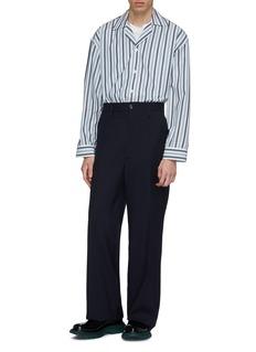 E. Tautz Stripe pyjama shirt